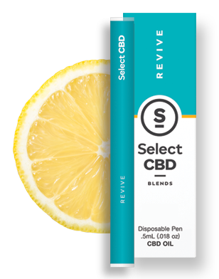 Revive | Lemon Vape Pen - 250mg - Select CBD®