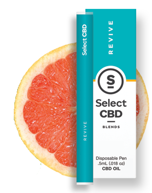 Revive | Grapefruit Vape Pen - 250mg - Select CBD®