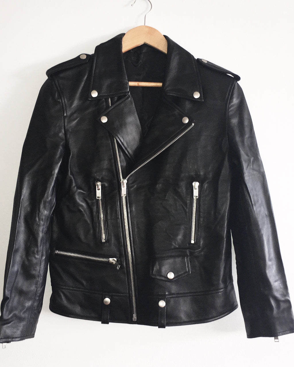 Mens Doom and Gloom Leather Jacket