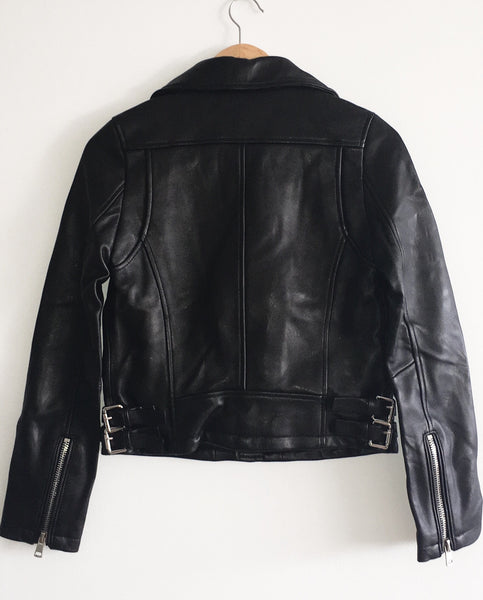 Womens Sweet Virginia Leather Jacket