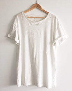 soft, lightly distressed vintage t shirt