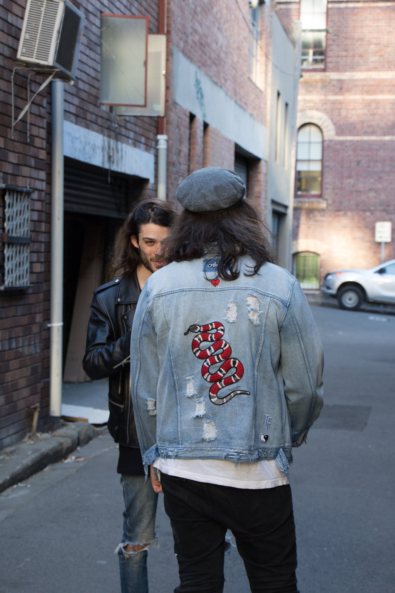 Satisfaction Denim Jacket