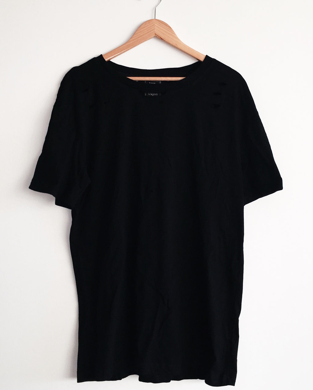 Vintage Tee - Washed Black