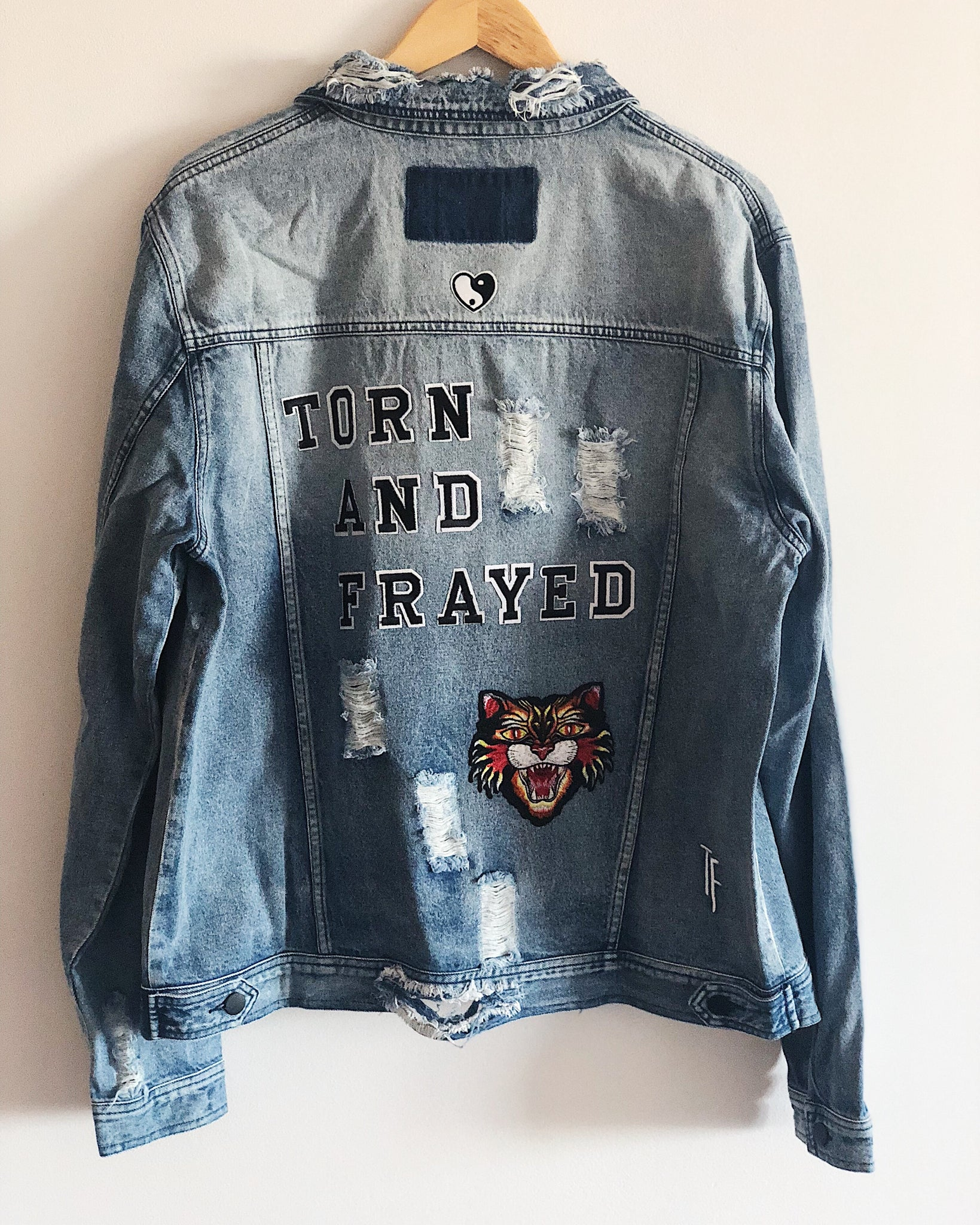 TF Letter DNIM Jacket