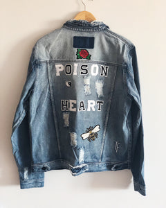 Poison HEART Denim Jacket