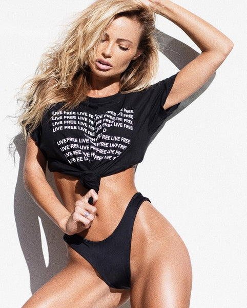 Live Free T shirt - Abby Dowse