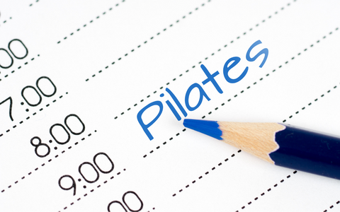 Adjusted pilates schedules