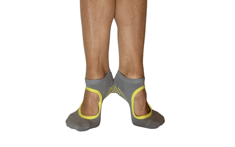 Mary Jane pilates grip socks for fitness or home