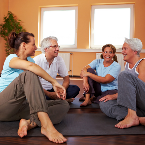 pilates chit chat during your session