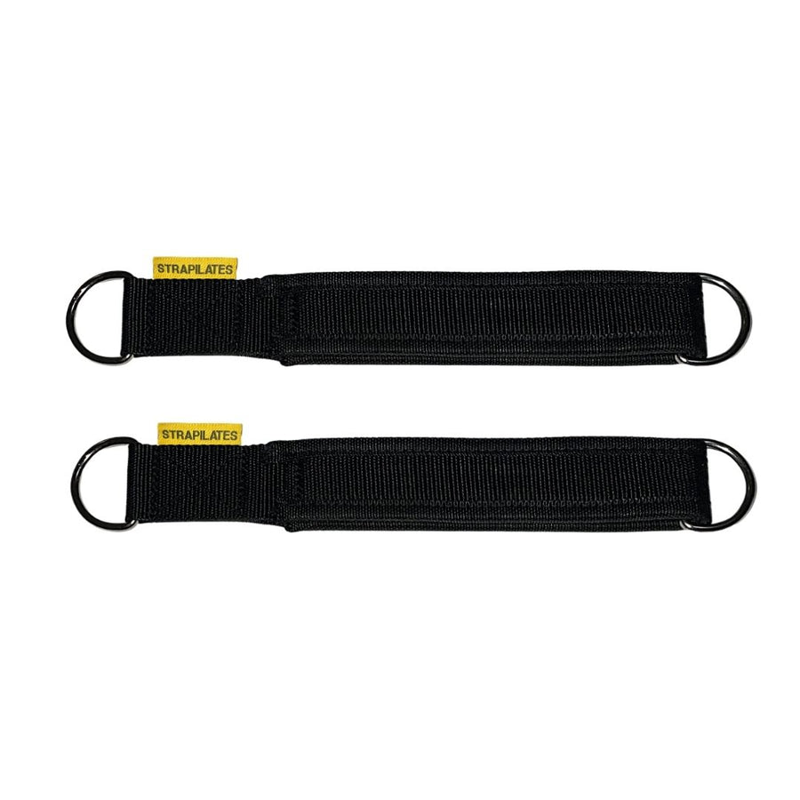 Single Loop Pilates Straps (Black)