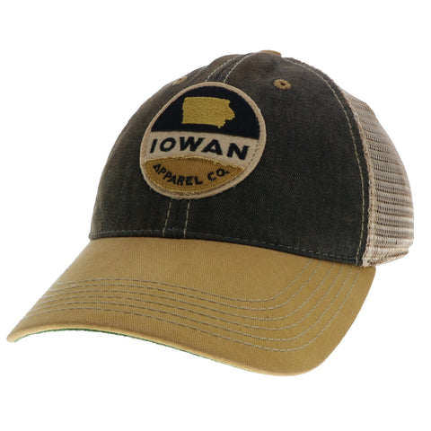 Old Favorite Trucker- Black/Yellow