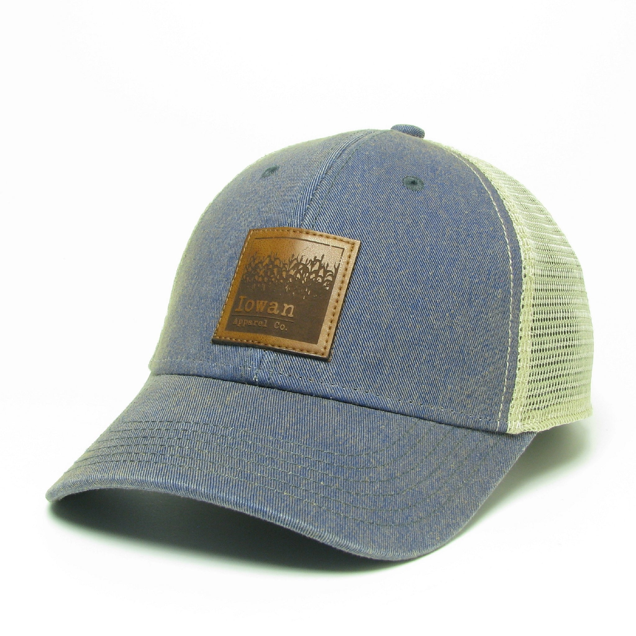Washed Structured Cap- Blue