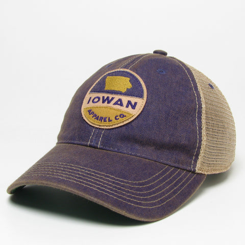 Old Favorite Trucker- Purple