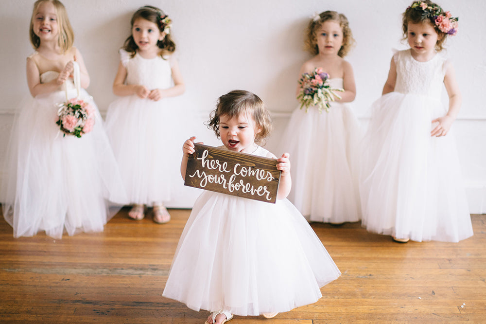 4050c4aab We think it's a great idea to have two flower girls or pair up ring bearer  and flower girl when it comes to proceeding down the aisle, ...