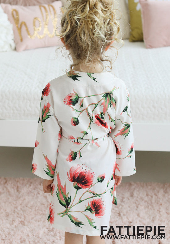 Poppy Love Girls Robe