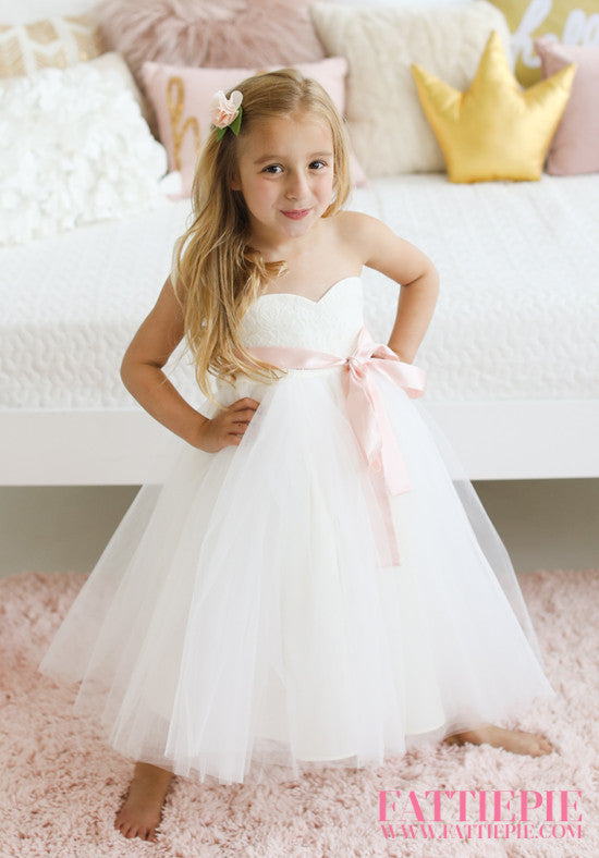 ff92463bc4 BIG DAY-Flower girl dress – Fattiepie Dresses
