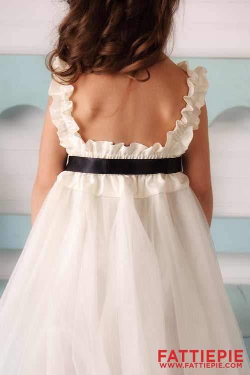 Perfect Fit Easy Dressing GRA Flower girl dress