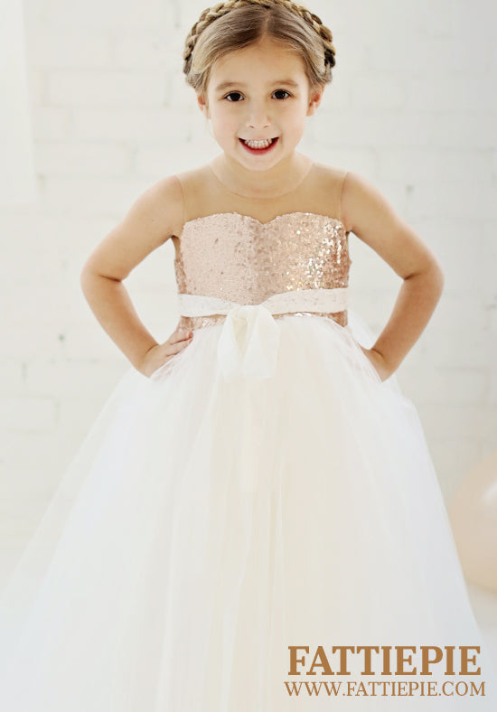 SELENE-Flower girl dress