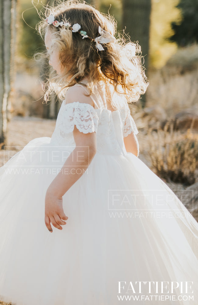 HARPER-Flower girl dress