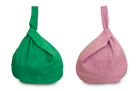 HADA RASPBERRY AND GREEN TOTE