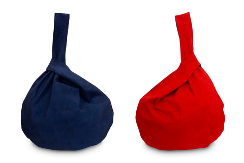 HADA RED AND BLUE TOTE