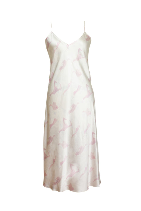 MENORCA MALVA FEMALE PRINT SLIP DRESS