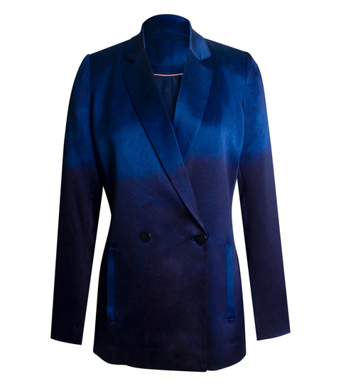 ISABEL BLAZER INDIGO DEGRADE