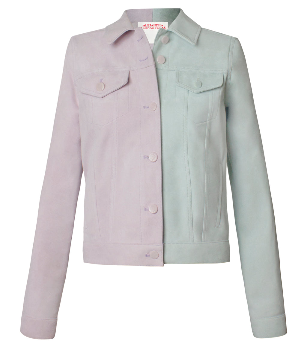 BEA MALVA AND MINT JACKET