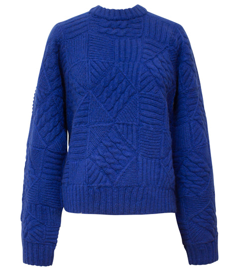 JOSE ABEL BLUE SWEATER