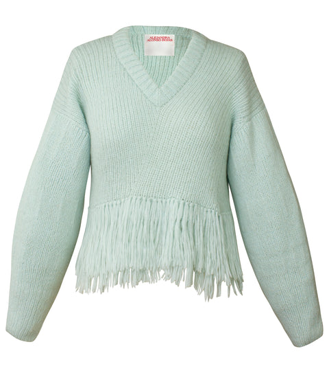 MARI MINT SWEATER