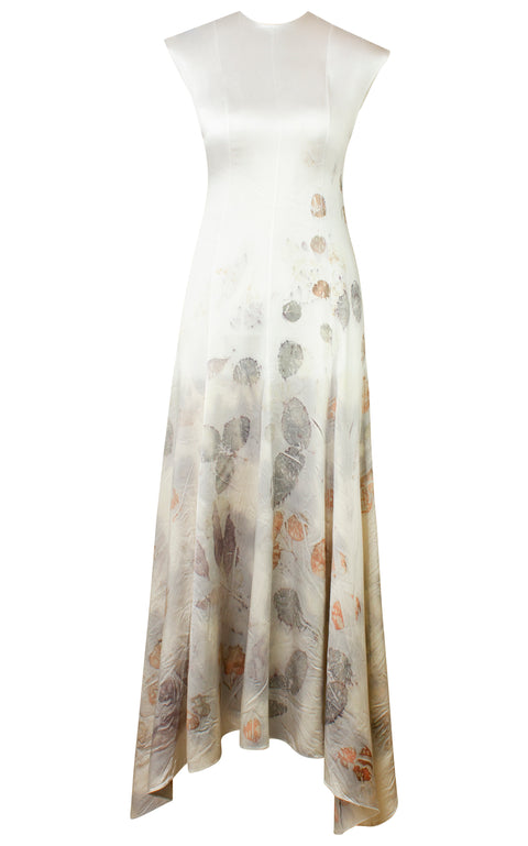 CASILDA FLORAL DYED DRESS