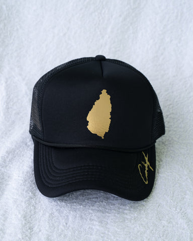 SLU GOLD TRUCKER HAT