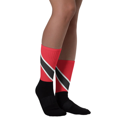 Trinidad Flag Socks