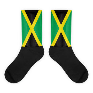 Open image in slideshow, Jamaica Flag Socks