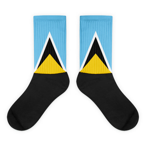 Saint Lucia Socks