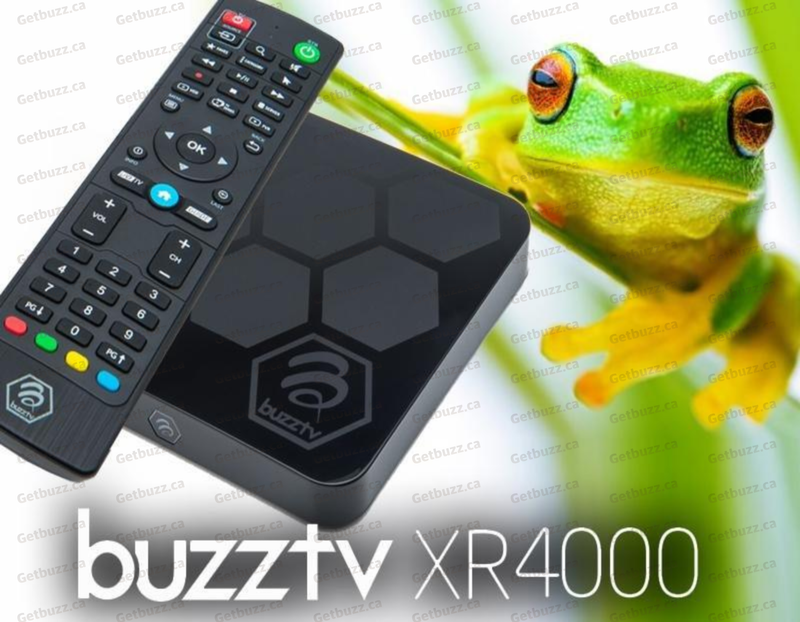 BuzzTv XR 4000 4K Media Streaming Box