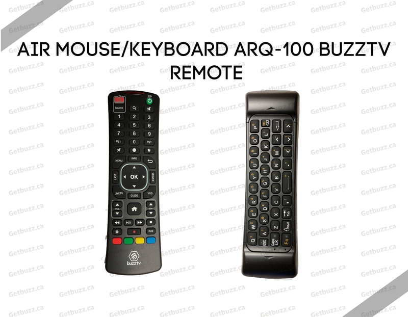 Air Mouse/Keyboard ARQ-100 BuzzTV Remote