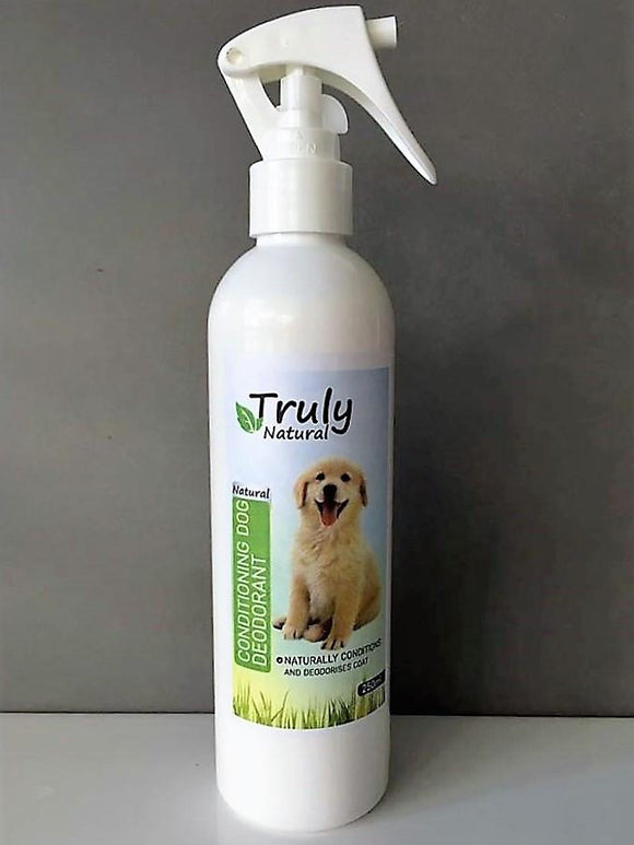 Truly Natural Conditioning Dog Deodorant
