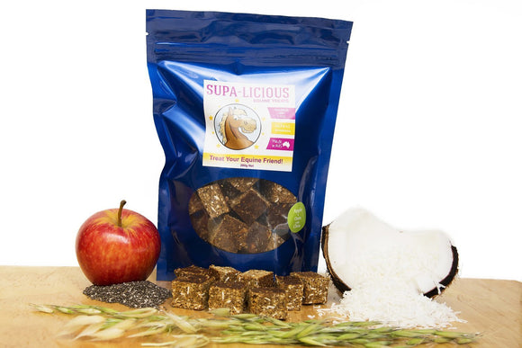 Apple Oat & Chia Bites