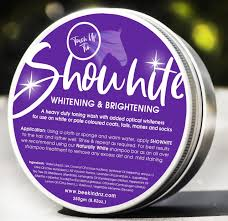 Showhite Toning Shampoo touch up tin