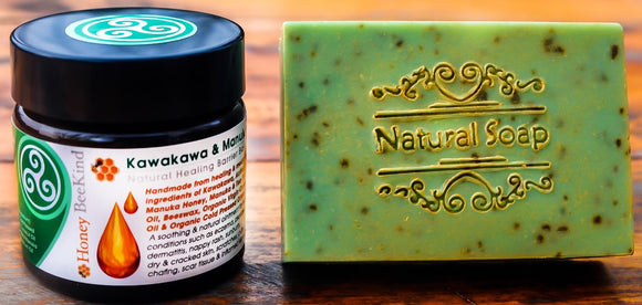 Kawakawa Balm and Soap Pack