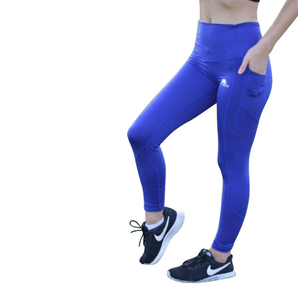 Bold blue performX leggings - Miss Active Apparel