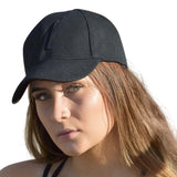 Black or white adjustable cap - Miss Active Apparel