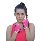 Pink Gym gloves - Miss Active Apparel