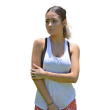 White muscle tank - Miss Active Apparel