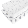 Organic Cotton Changing Pad Cover - Elephant