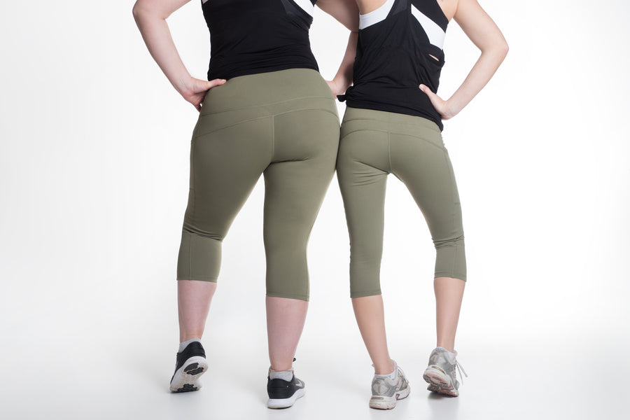 GF2.0 Khaki Green Tights