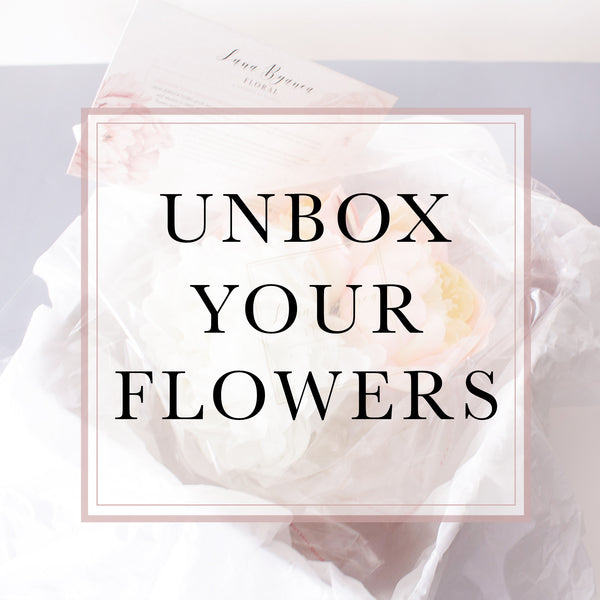 Unbox Your Silk Flowers