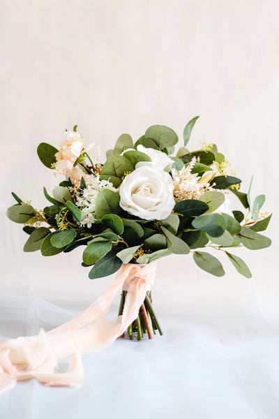 """Byanca's Dream"" Garden Silk Wedding Bouquet"