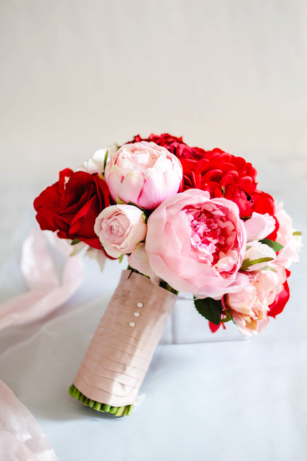 """Sweet Love"" Silk Wedding Bouquet"